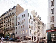 h2o architectes social housing - 13units - paris
