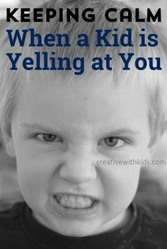How to Stay Calm and Get Your Child to Stop Yelling at You Keeping calm when a kid is yelling at you – ideas to stay calm in the face of anger. Parenting Done Right, Parenting Advice, Kids And Parenting, Happy Mom, Happy Kids, Body Preschool, Angry Child, Kids Behavior, Preschool Behavior