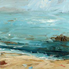 Highlands coast, clear salt water
