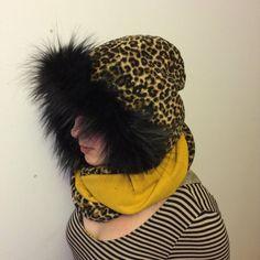 by CiervaWein on Etsy Tube Scarf, Lynx, Beanie, Dreadlocks, Hoodies, Hair Styles, Etsy, Fashion, Moda