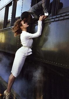 Now I just need an old train.  And an awesome dress.  And legs tall enough to get me up that high. by jamie_1