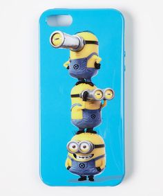 Look at this Minion Totem Pole Case for iPhone 4/4s on #zulily today!