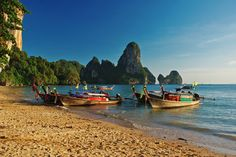 Ton Sai beach, Thailand - the place I always want to be.