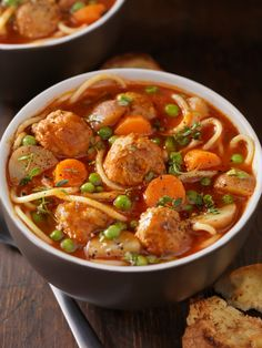 Rapido Meatball Soup | cooking | Pinterest | Meatball Soup, Soups and ...