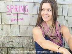 Spring Knitting has Arrived!