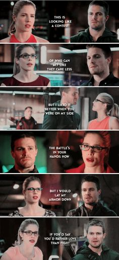 the story of us #arrow << The feels are killing me!!