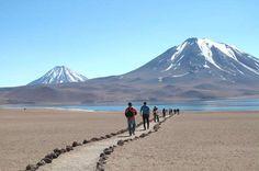 O Atacama é um dos pontos turísticos que despertam mais curiosidade nos turistas do mundo todo. O lo... - Fornecido por Guia da Semana