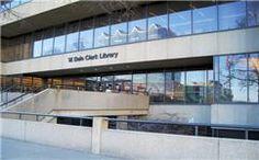 W. Dale Clark (Main) Library Omaha~ Downtown Omaha Neighborhood Walks with Routes & Miles