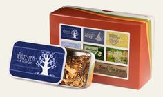 Second Breakfast Tea -- someone had created a Lord of the Rings themed line of teas. Hello!