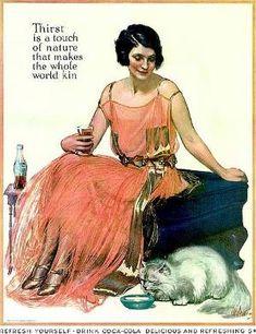 Vintage Coca Cola Ad by helena