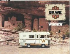 I remember going with my Daddy to pick up our Winnebago......happy memories of camping & going to the Drive In with this!