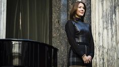 Lovley photo of Princess Mary in a Hugo Boss dress
