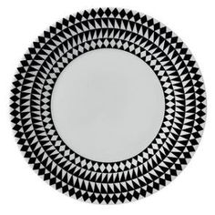 Jasper Conran Mosaic Black Plate