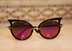 Unique Cat Eye Sunglasses by SeductiveVintage on Etsy