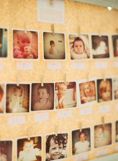 baby shower game- guess the baby photos have every guest bring their baby photo !! How fun!!