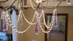 Magnetic Hanging Crystals NEW! : Wholesale Wedding Supplies, Discount Wedding Favors, Party Favors, and Bulk Event Supplies Girls Chandelier, Purple Chandelier, Chandelier Bedroom, Metal Chandelier, Chandelier Crystals, Chandeliers, Wedding Centerpieces, Wedding Favors, Wedding Bouquet