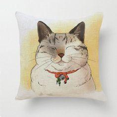 The cutest kitty pillowcase