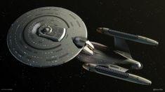 Star Trek Futures - USS Enterprise 1701-C by startrekfutures on DeviantArt