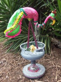 """CONTRIBUTED PHOTO. This flamingo is all decked out for Fourth of July fun. """"Flamingo Fandango"""" exhibit is on display Monday-July 31 at the S..."""