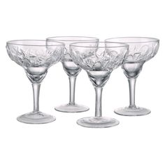 Artland Inc. Shells Margarita Glasses - Set of 4 - 16002A