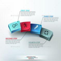 Modern Infographic Options Banner Template #design Download: http://graphicriver.net/item/modern-infographic-options-banner/9789669?ref=ksioks