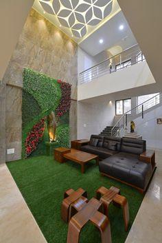 Small House Interior Design, Modern Exterior House Designs, Bungalow House Design, Home Room Design, Dream Home Design, 3d Home Design, Design Ideas, Indian Home Design, Indian Home Interior
