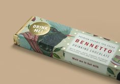 Bennetto Drinking Chocolate packaging designed by One Design.
