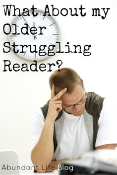 helping the older struggling reader