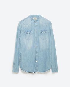 LONG SLEEVE SHIRT-Casual-Shirts-MAN-SALE | ZARA United States