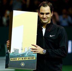 Roger Federer vs Robin Haase (4/6-6/1-6/1) ATP 500 Rotterdam - 16 février 2018 - Federer redevient numéro 1 mondial à 36 ans 195 jours