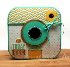 Amazing Insta Camera by ilinacrouse - Cards and Paper Crafts at Splitcoaststampers