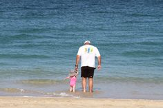 Her 1st trip actually into the ocean. A moment I will never forget.