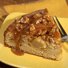 Caramel-Apple Walnut Cake
