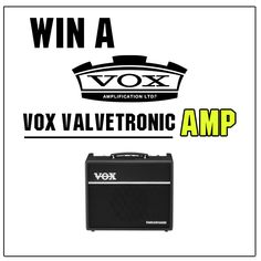 Who wants to #WIN a VOX Valvetronic Amp.  Head over to our facebook page to find out how you can enter our #COMPETITION to win a new amp. Follow the link below...  https://www.facebook.com/guitarbitz/photos/a.10150361723123946.354731.110577068945/10152373076948946/?type=1&theater  GOOD LUCK!