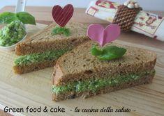 Sandwich con crema di zucchine http://blog.giallozafferano.it/greenfoodandcake/sandwich-con-crema-di-zucchine/