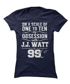 Mens Houston Texans JJ Watt Majestic Red Eligible Receiver II Name & Number T-Shirt