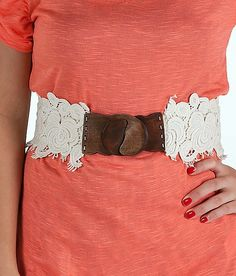 Daytrip Lace Overly Belt  buckle.com $19.95