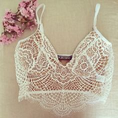 For Love & Lemons - Bat Your Lashes Bralette // www.80spurple.com // $110