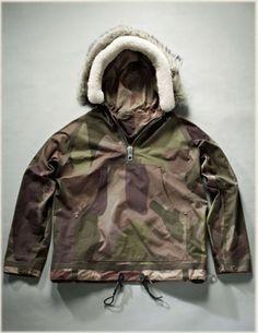 Home of Nigel Cabourn Camo Fashion, Men's Fashion, Fashion Outfits, Nigel Cabourn, Dry Goods, Cool Jackets, Vests, Parka, Camouflage