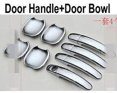 Fits Honda Crosstour 10-14 Chrome Pillar Door Covers post window mirror trim ss