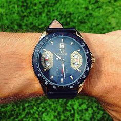 The grass is greenerwith Monaco Gold ($69) on the wrist. #vodrich