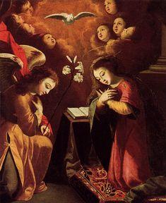 The Annunciation - Josefa de Obidos