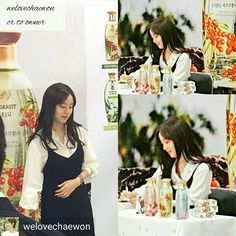 So it turns out to be her real hair + hair extension ^^ . @Regrann from @welovechaewon -  Moon Chae fan signing for LG Organist..For those who'se wondering, yes that's her real hair..maybe she's done some hair extension..Yay, so happy to see you again my bbong~ssi!! (cr: to respective owner)  #moonchaewon #문채원 #leejinwook #goodbyemrblack #굿바이미스터블랙 #SongJoongki #koreandrama #kdrama #kactress #actress #beautiful