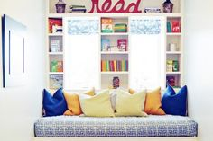 reading nook ideas!