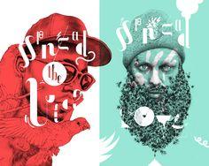 Ilustración y tipografía © Valistika Studio I Singular Graphic Design