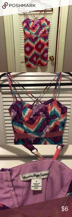 Dress Fun colorful dress. American Eagle Outfitters Dresses Mini