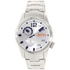 Hugo Boss Men's Orange 1513148 Silver Stainless-Steel Quartz Watch