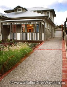 PHOTO GALLERY - professional new concrete driveways installation, Melbourne, Victoria - A Better Driveway