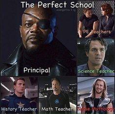 Avengers School