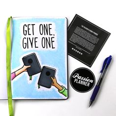 Here at Passion Planner our main goal is to help people. We encourage the act of giving, sharing the wealth of knowledge , and the betterment of wellness for ourselves and those around us.  - In order to do that- we have our GET ONE GIVE ONE program. When you buy a Passion Planner , we give one away to someone in need! Help us in our journey of spreading all that is good in the name of giving!  - #passionplanner #GetOneGiveOne #maketheworldabetterplace #giving #help #communities